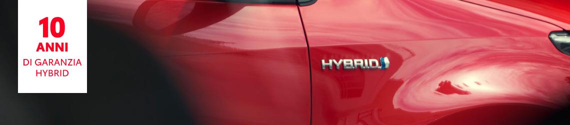 Toyota garanzia hybrid