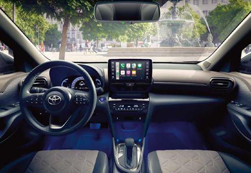 Toyota Yaris Cross interni